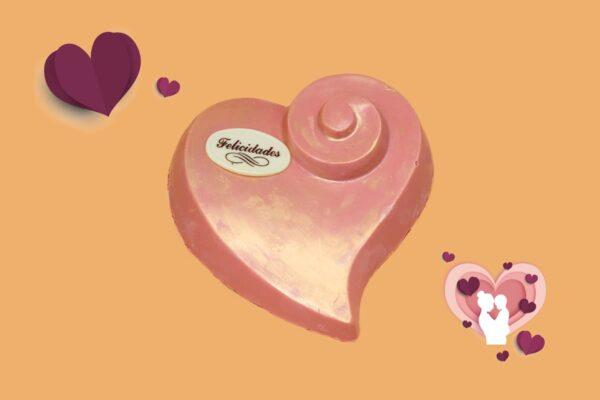 TREAT BOX DÍA DE MAMI Caja-Corazón-de-chocolate-3c Malvys shakes